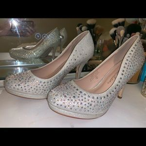 Shoes - Bling heels